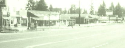 Pacific Avenue passing through Spanaway